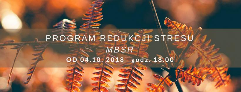 Program MBSR z Jolą Tadeusiak (start 04.10.18)