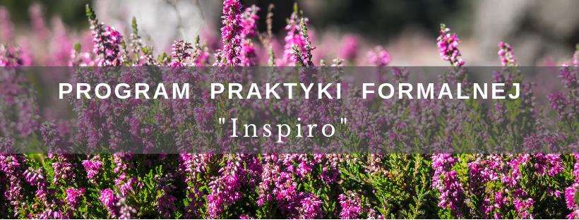 Program Praktyki Formalnej INSPIRO – kolejna runda