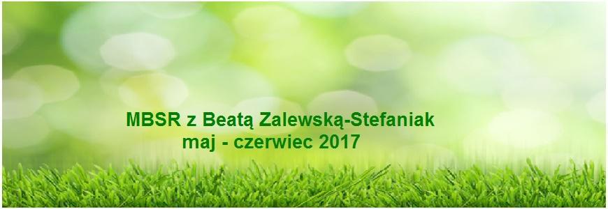 MBSR z Beatą Zalewską-Stefaniak