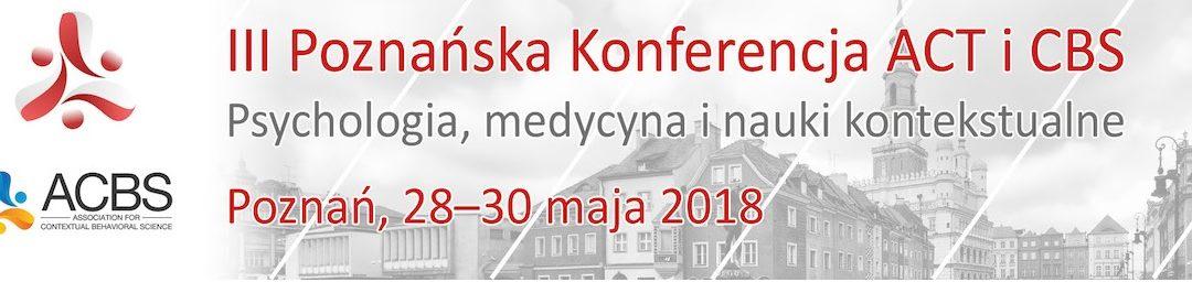 III Poznańska Konferencja ACT i CBS