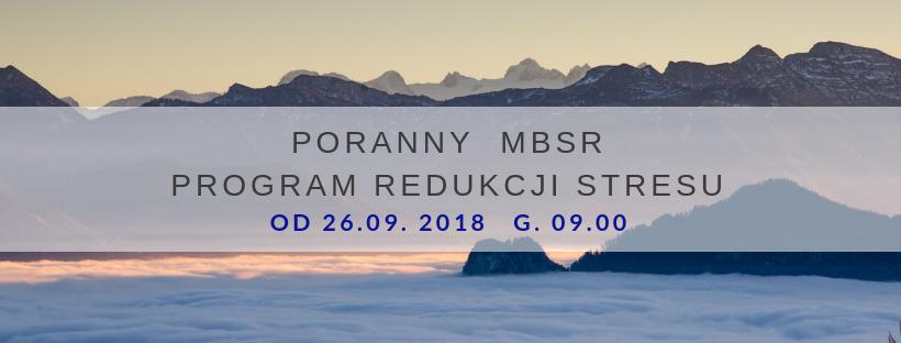 Poranny MBSR na Żoliborzu od  26.09.2018 godz. 9.00
