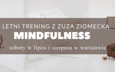 LETNI TRENING MINDFULNESS