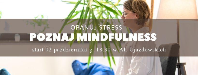Jesienny kurs mindfulness z Zuzą Ziomecką