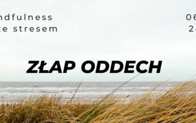 Kurs mindfulness i pracy ze stresem z Dawidem / jesień 2021